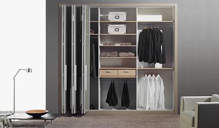 Venta de armarios a medida en donostia san sebasti n - Puertas plegables armarios ...